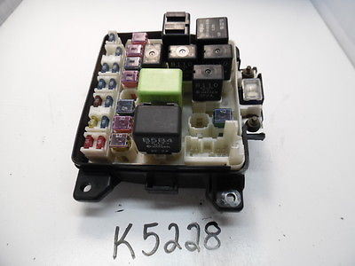 00 01 02 03 mazda protege fusebox fuse box relay unit module k5228  0168842g05 k5228