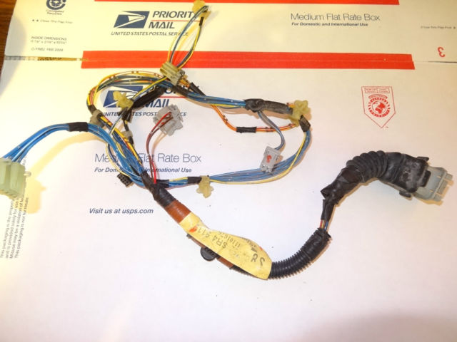 Honda Civic Door Wiring Harness : Honda civic wire harness front passenger door oem