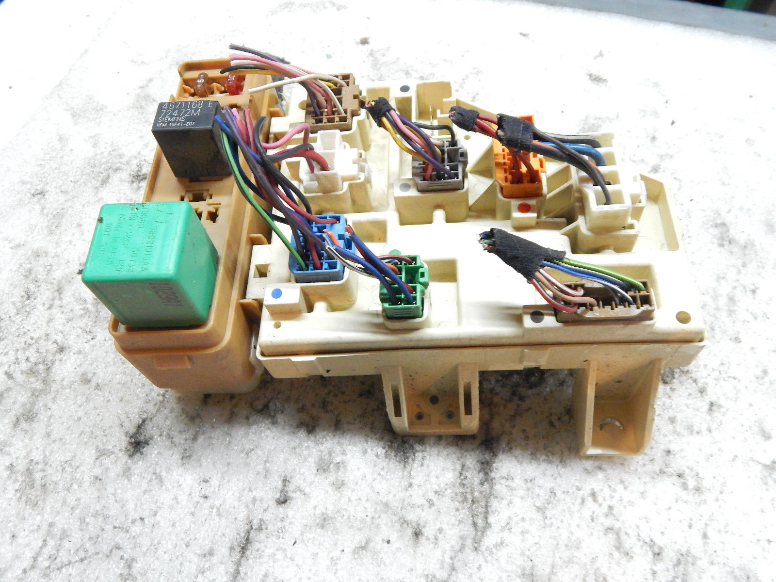 1999 Dodge Fuse Box Wiring Library 99 Durango Dashboard Panel And Relay Junction Assembly 1998 2000 2001 2002