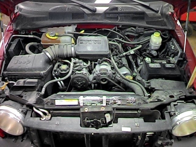2002 JEEP LIBERTY RADIATOR OVERFLOW BOTTLE 2615033 , 671-00294