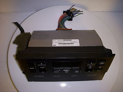 Used Chevy Equinox >> BUICK ROADMASTER 1992 92 Electronic CLIMATE CONTROL ...