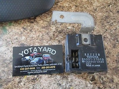 85 86 87 88 89 Toyota MR2 Seat Belt Warning Relay 85991-17010 YOTA YARD