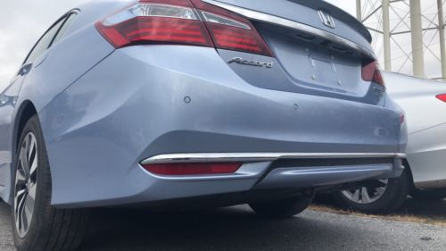 2017 HONDA ACCORD HYBRID Touring OEM REAR BUMPER COVER Assembly Complete.