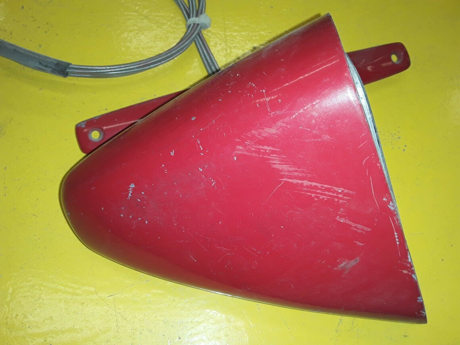 1974-75 Mercury Montego Original/Used Left Remote Sport Mirror D4GB-17724-AA Does not apply