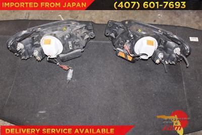 01-03 JDM Subaru Legacy B4 BE5 BH5 STI Headlights Zenki Lights Lamps OEM RH LH