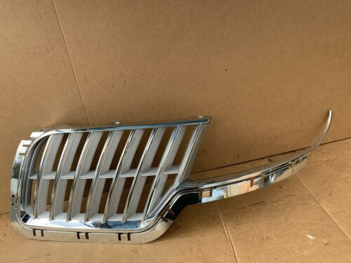 2010 2011 2012 Lincoln MKZ Left Driver Upper Chrome Grille Grill Trim
