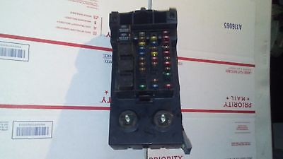 14a067 1999 lincoln navigator expedition fuse box relay junction block xl14 <em>14a067