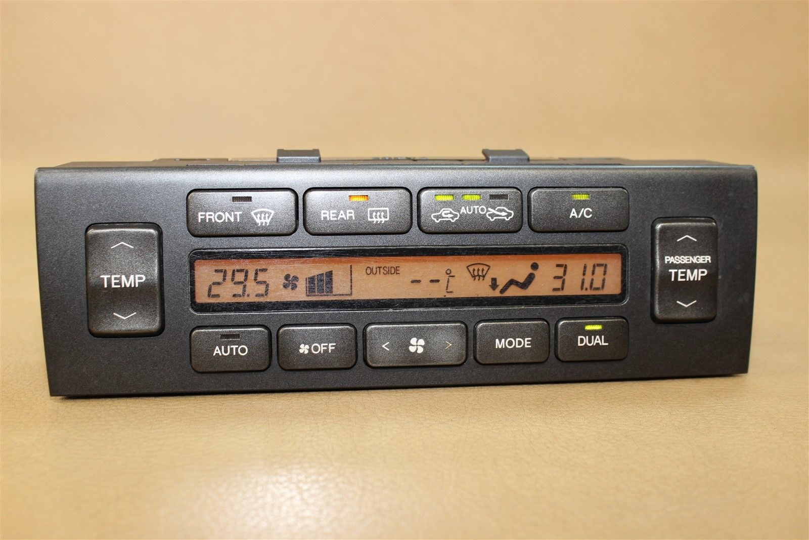 01-05 LEXUS GS300 GS430 DIGITAL CLIMATE TEMPERATURE HEATER CONTROL 55900-3A288 Does Not Apply 1890 - 12.22.16