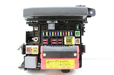 mitsubishi eclipse 02 fuse box 01 02 07 08 mitsubishi eclipse mr587807 fusebox fuse box #1