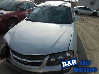 AUTOMATIC TRANSMISSION 3.8L 3.05 AXLE RATIO OPT F83 FITS 01 IMPALA 9457887