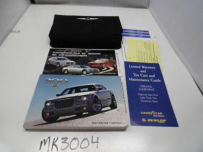 2007 <em>CHRYSLER</em> <em>300</em> VEHICLE OWNERS MANUAL BOOK HANDBOOK MK3004