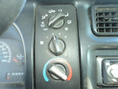 98 DODGE RAM 1500 PICKUP Temp/Heater Control