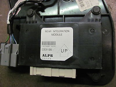 Trailblazer blend door actuator module location 2002 for Door zone module