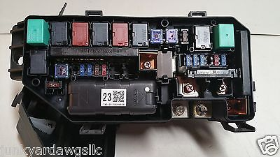 2009 2010 2011 2012 acura tsx 2 4l fuse box block relay. Black Bedroom Furniture Sets. Home Design Ideas