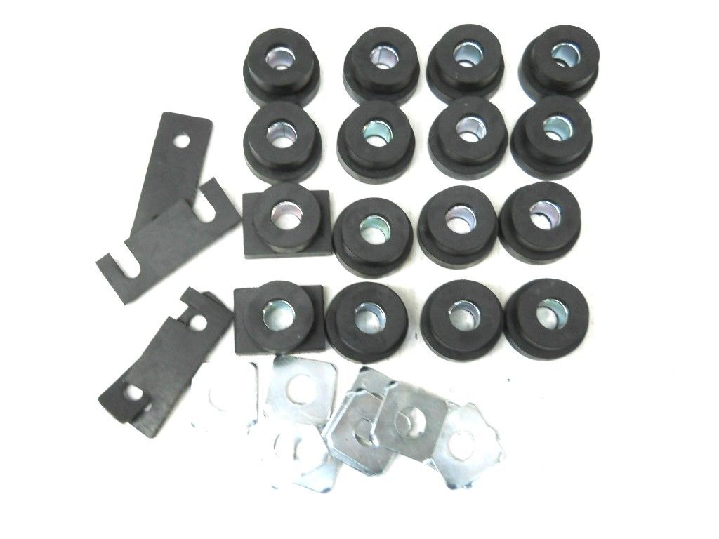 1955-57 CHEVROLET HARDTOP BODY MOUNT KIT 23-098A1