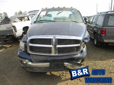 03 04 DODGE RAM 2500 PICKUP TURBO/SUPERCHARGER STANDARD ENGINE VIN 6 8208652