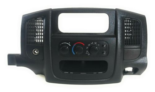 2002-2005 DODGE RAM 1500 A/C HEATER CLIMATE CONTROL & RADIO BEZEL OEM  Does Not Apply