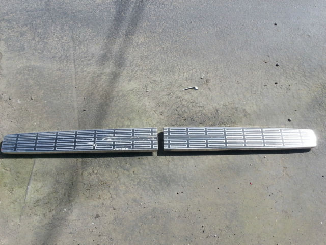 1962  Lincoln Continental Rear trim for above the bumper 28 long each