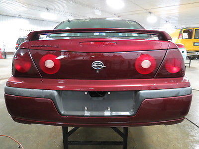 2002 Chevy Impala Inner Trunk Tail Light Lamp 2373584 166 01832