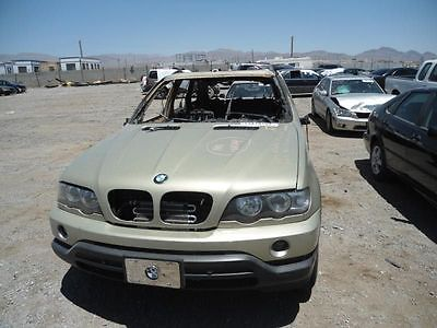 <em>WHEEL</em> 18X8-1/2 ALLOY 5 SPOKE ROUND SPOKE FITS 00-06 BMW X5 3822618