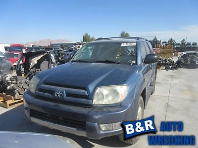 03 04 TOYOTA 4 RUNNER AUTOMATIC TRANSMISSION 6 CYL 4X2 9250273