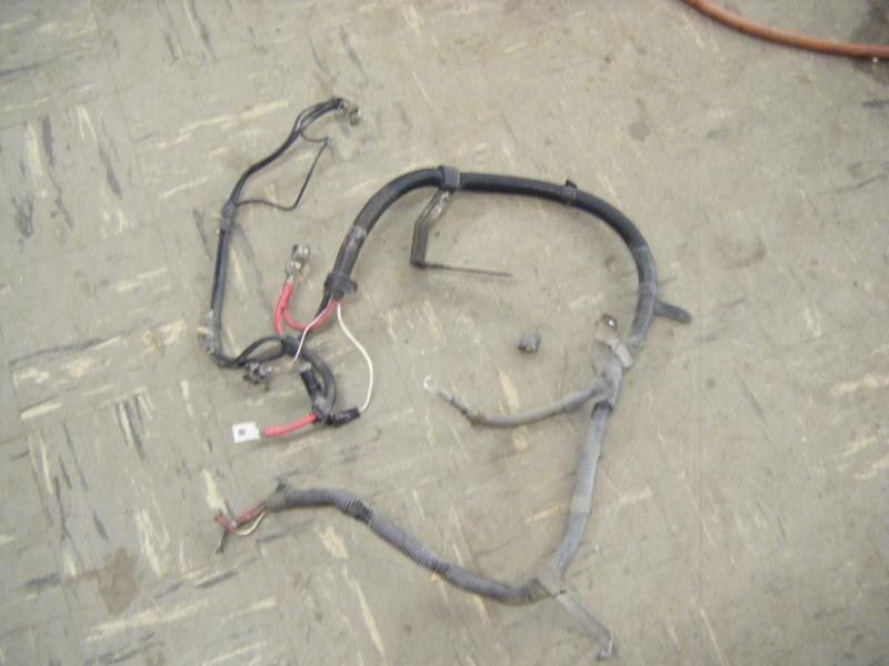 01 FORD MUSTANG BATTERY TERMINAL STARTER HARNESS WIRING 4.6 GT MT LITER  Ford Starter Wiring Harness on
