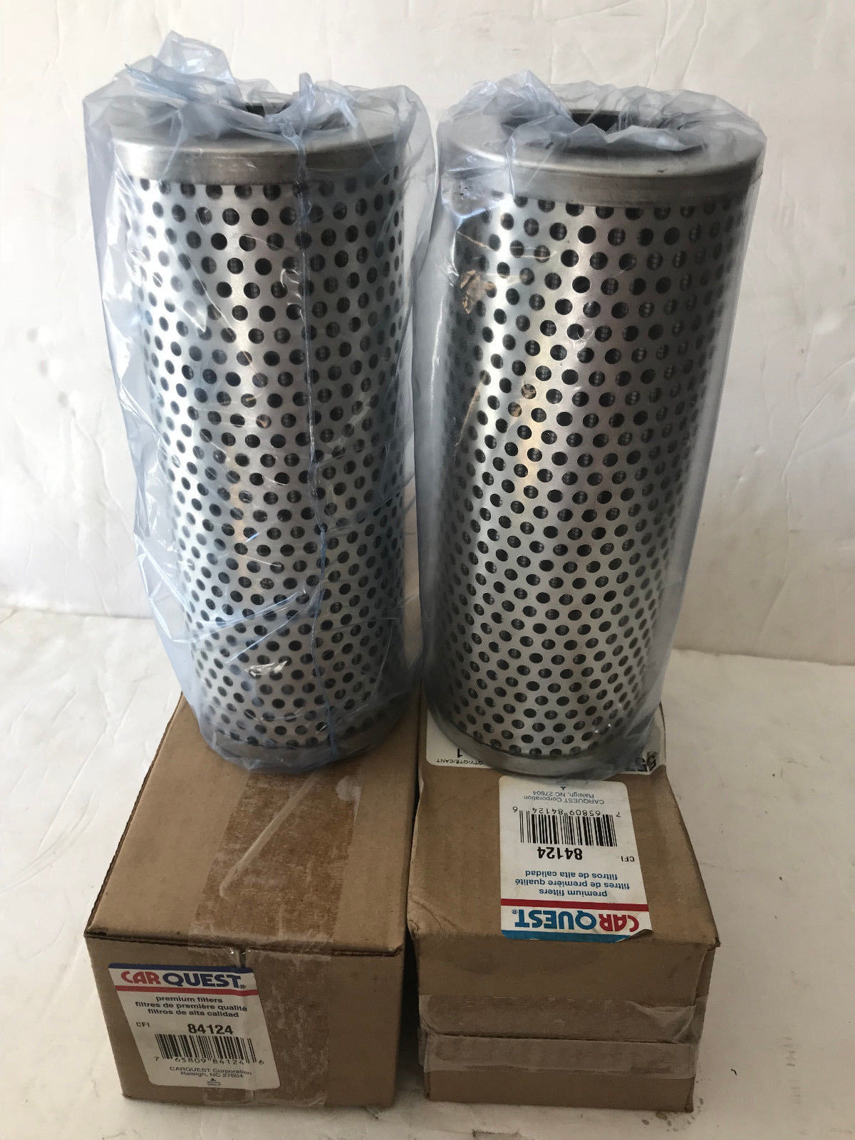 Carquest Page 1 M300 Fuel Filter Lot Of 2 84124 Emcarquest Em Hydraulic