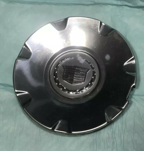 2004-2011 CADILLAC CTS STS BRUSHED ALUMINUM WHEEL CENTER CAP 9595437