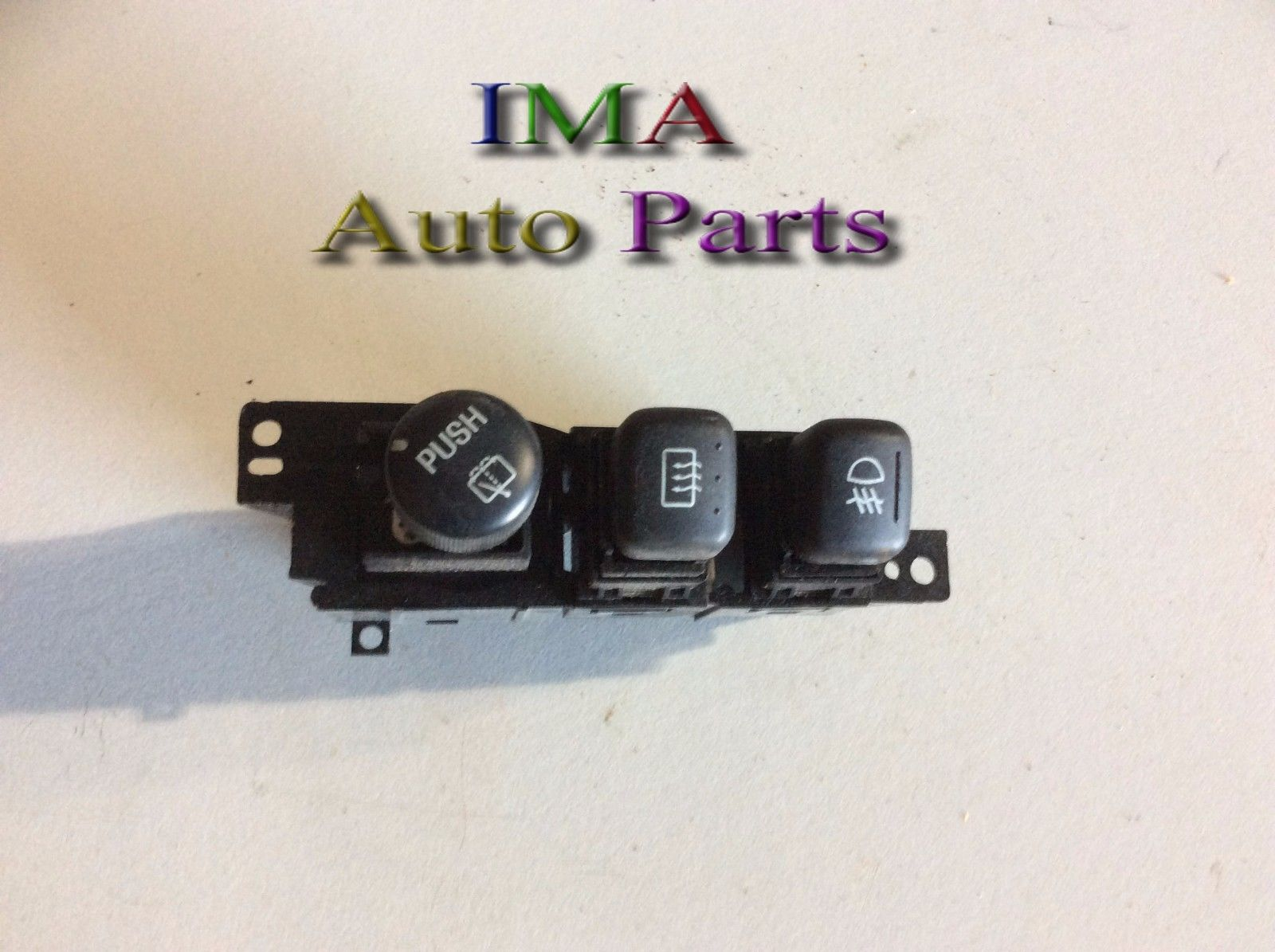2001 <em>MERCURY</em> MOUNTAINEER FOG LIGHT REAR DEFROST WIPER CONTROL SWITCH OEM