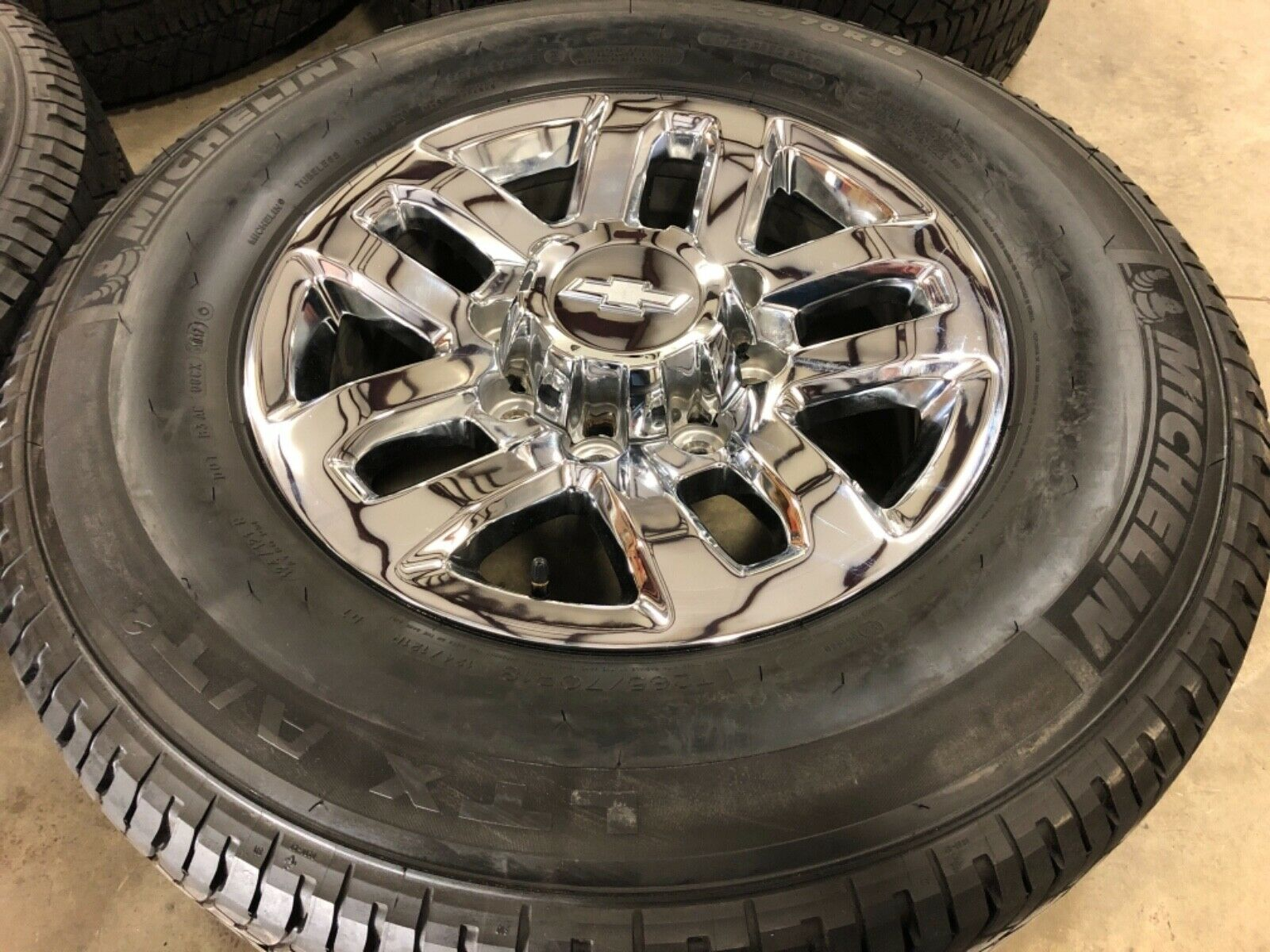 2013-2019 Chevy 2500 Factory Take Off Tires and Wheels with Sensors