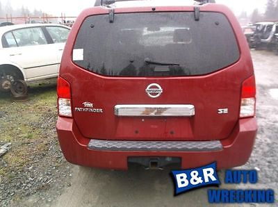 05 06 07 08 09 10 11 12 PATHFINDER L. REAR DOOR GLASS PRIVACY 8649208 278-58655L 8649208