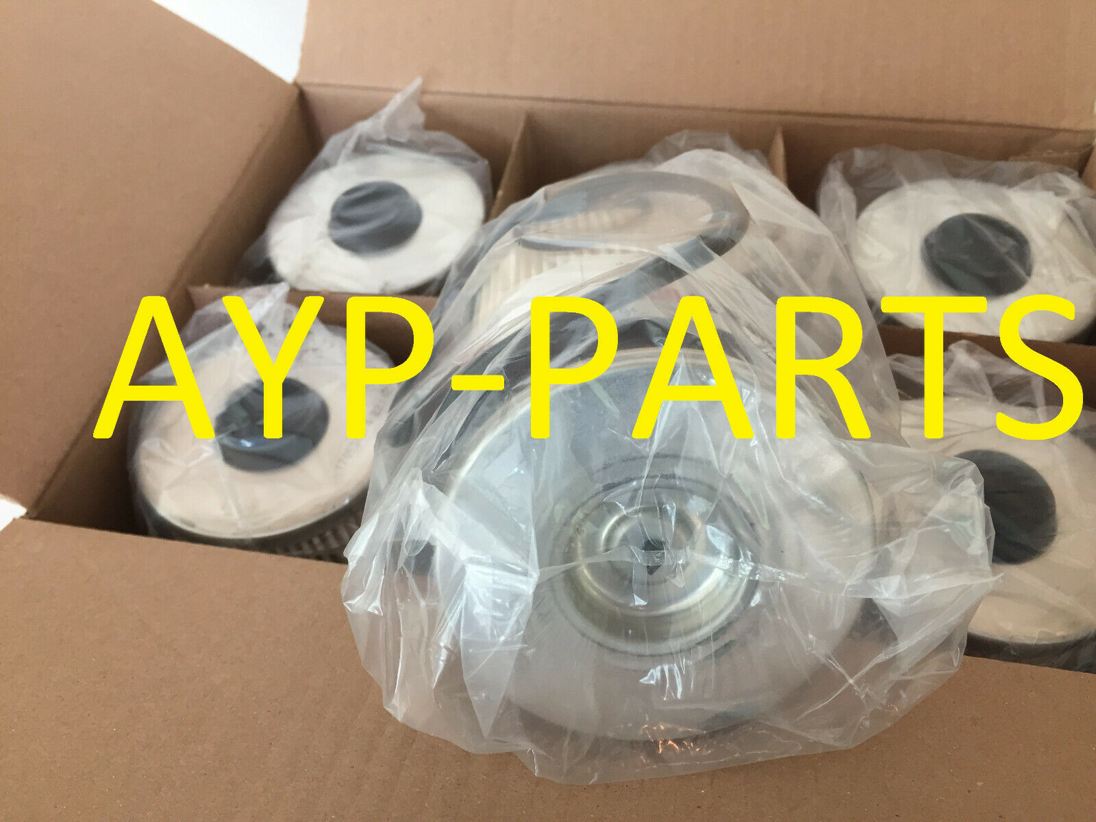 (CASE OF 6) FS19727 FLEETGUARD FUEL FILTER Fits Davco FH233 Housing Cummins ISX  638217078538