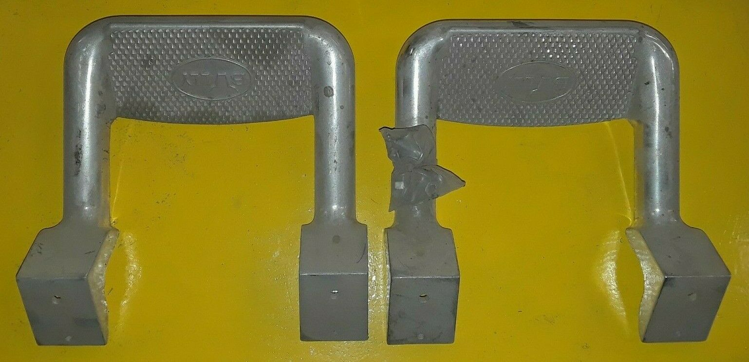 PAIR BULLY ALUMINUM TRUCK SUV SIDE STEP NERF BAR FOR FORD MERCURY DODGE CHEVY Does not apply