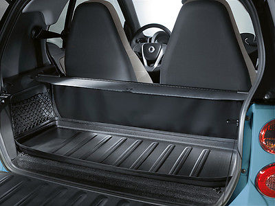 genuine smart fortwo cargo tray protector trunk mat liner warranty 451 899 00 21 4518990021. Black Bedroom Furniture Sets. Home Design Ideas