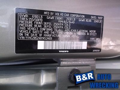 05 06 07 08 09 10 VOLVO XC90 ENGINE ECM 8916346 8916346