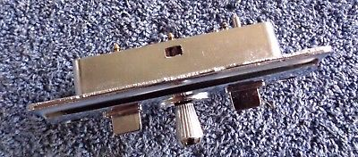 MINT OEM Original 60's-70's GM Models Chrome Power Seat Switch 6-Pin PASSENGER 9825000