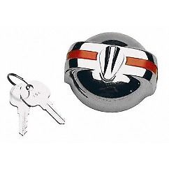 1953-1957 Chevy Locking Gas Cap w/Red Stripe