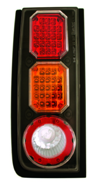 <em>IPCW</em> <em>Hummer</em> <em>H2</em> 2003-2008 <em>Tail</em> Lamps, LED Black/ed/Amber