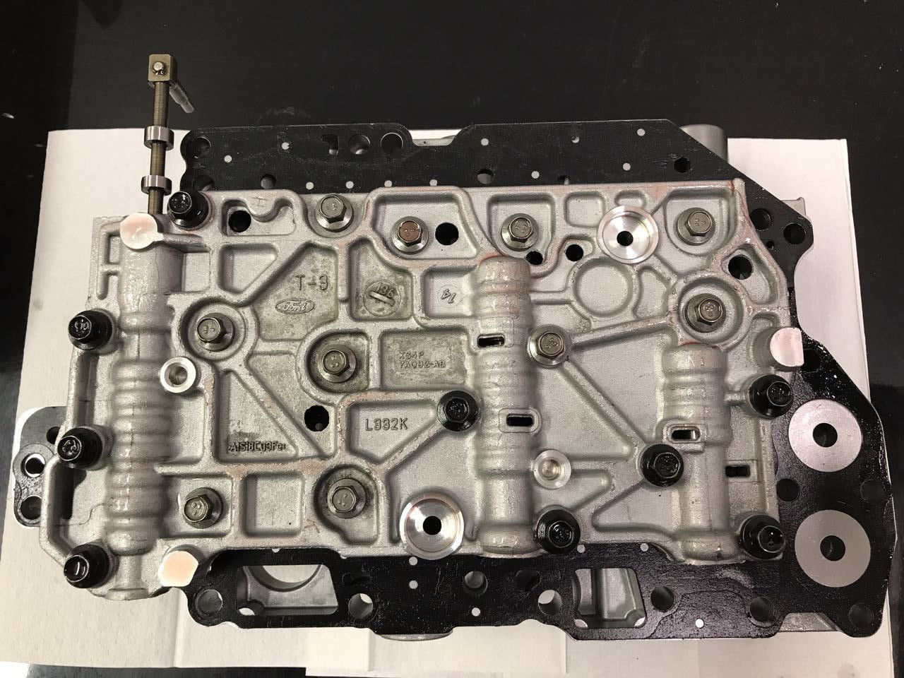 Genuine 4F27E Complete Transmission Valve Body Rear Cover Direct Forward Clutch Does not apply