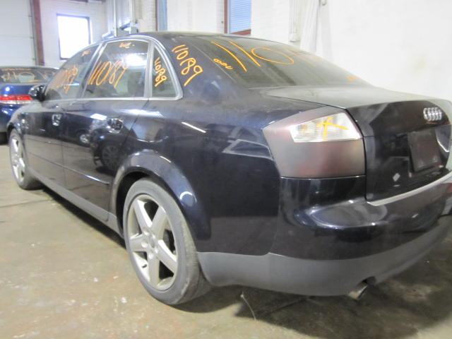 Parting out a 2003 Audi A4 110189