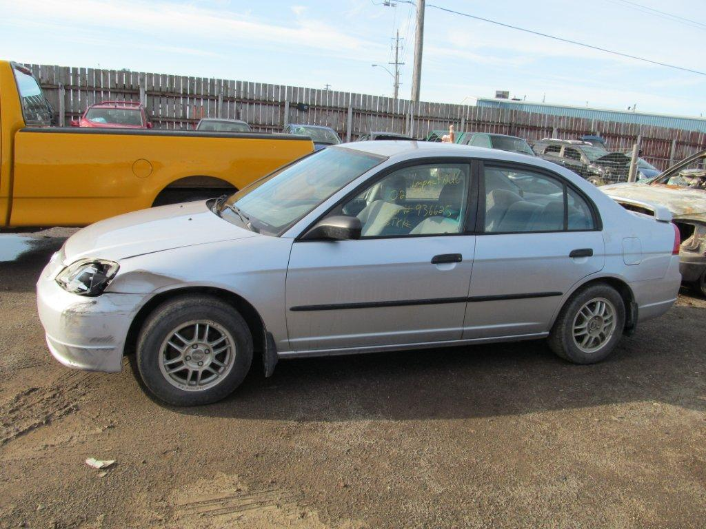 Honda  HONDA CIVIC 2002 For Parts 936625