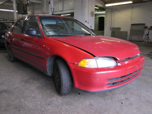 Parting out a 1993 Honda Civic