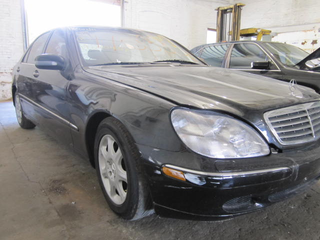 Parting out a 2000 Mercedes S-Class