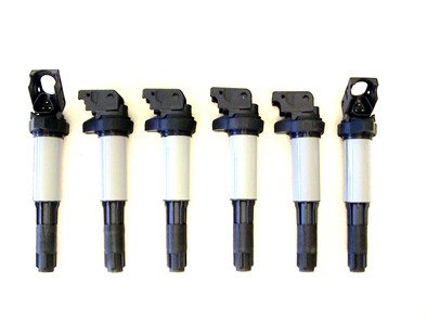 Ignition Coil Set of 6 for BMW