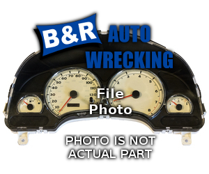 Mercedes-Benz CLK320 1999 Speedometer Head /Cluster 257-60709 RFF398