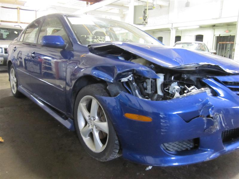 Parting out a 2005 Mazda 6
