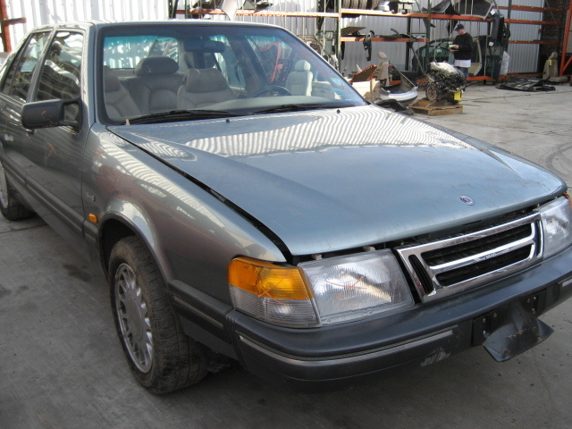 Parting out a 1989 Saab 9000