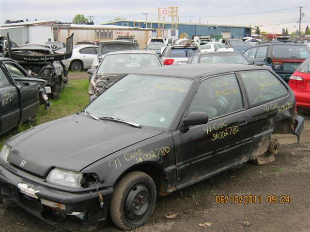 Honda  HONDA CIVIC 1991 For Parts
