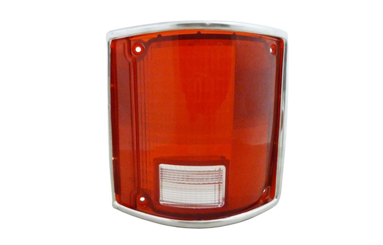 78-91 BLAZER / JIMMY / SUBURBAN / CHEVY GMC C/K PICKUP TAIL LIGHT LENS ONLY - PASSENGER SIDE