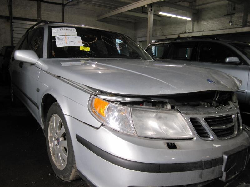 Parting out a 2002 Saab 9-5